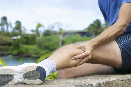گرفتگی پا در اثر تمرینات ورزشی